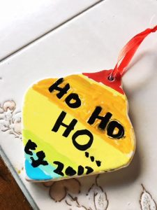 kids ornament paint DIY 1